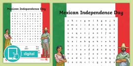 Mexican Independence Day Flipbook (teacher made)