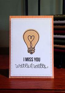 The 25+ best ideas about Miss You Cards on Pinterest ...