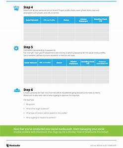 How to create a social media marketing plan in 6 steps for Audit follow up template