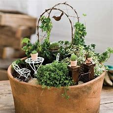 """14 Best """"miniature Container Gardening By Iron Accents"""