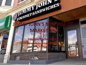 Jimmy john's new age of marketing
