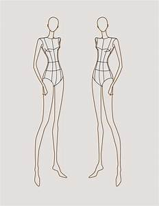 Pin Female-fashion-croquis-templates-figure-051 on Pinterest