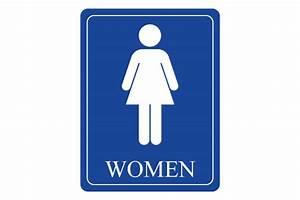10 best images of printable bathroom signs women for Men and women bathroom symbols
