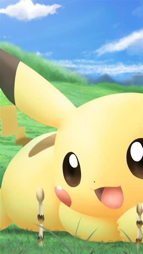 Cute Pikachu Girly Love Iphone 6 Plus 1080x1920 Wallpaper