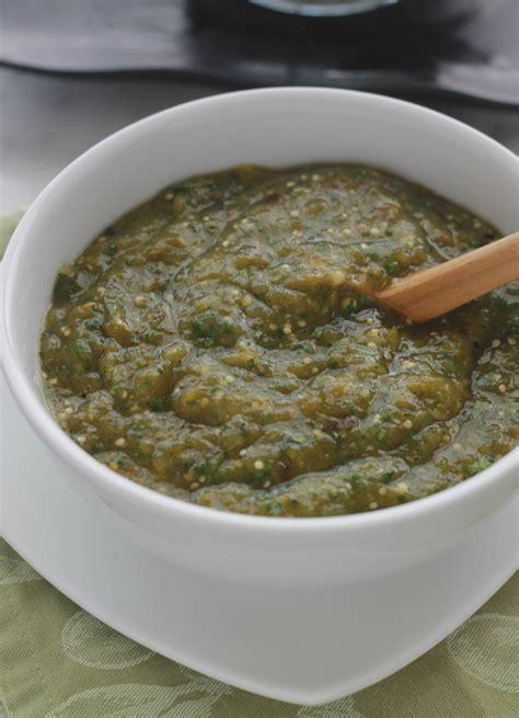 la cuisine mexicaine la vraie salsa verte mexicaine salsa verde