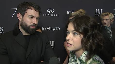 tom cullen youtube tatiana maslany and tom cullen face fame together youtube
