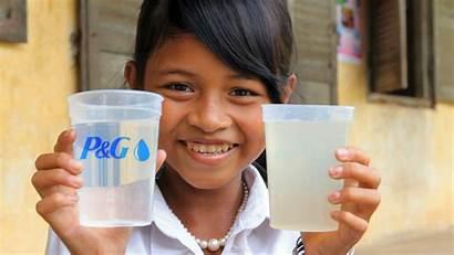 Water Drinking Clean Thirsty Safe Give Children