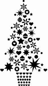 Noel Noir Et Blanc : sticker sapin de no l classique les contemplatives paris c t jardin ~ Melissatoandfro.com Idées de Décoration