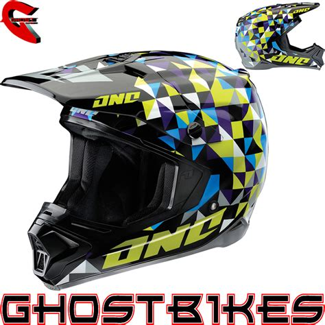 one industries motocross helmets one industries gamma trixle acu gold enduro off road mx