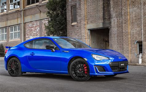 subaru brz 2018 subaru brz now on sale in australia sti inspired ts