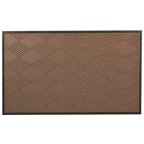 Brown Rubber Door Mat by Notrax Opus Brown 36 In X 48 In Rubber Backed Entrance