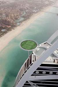 World's highest tennis court at the world's only 7 star ...