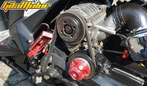 Modif Filter Udara Mio by Modifikasi Honda Vario 125 Fi 2012 Kombinasi Supercharger