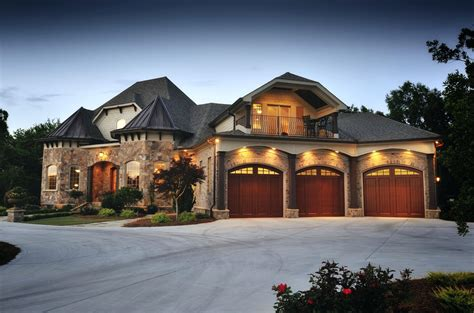 Southern House Plans Luxury Large Cottage Small Lake One