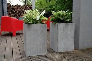 Pflanzkübel Beton Hoch : 2er set blumenk bel pflanzk bel aus beton faserbeton block 60cm garden pinterest katalog ~ Whattoseeinmadrid.com Haus und Dekorationen