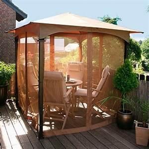 Pavillon Für Balkon : insektenschutznetz f r pavillon terrazzino online kaufen bei g rtner p tschke ~ Buech-reservation.com Haus und Dekorationen