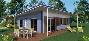 maison ossature metallique kit scarrco With maison en kit ossature metallique