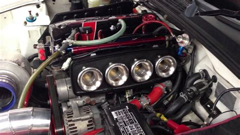 toda itb   tech engine open air intake sound