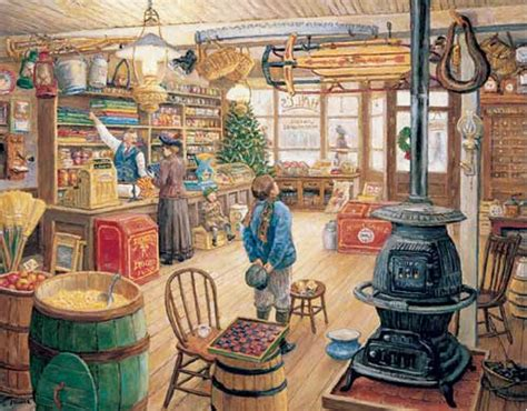 the olde general store jigsaw puzzle puzzlewarehouse com