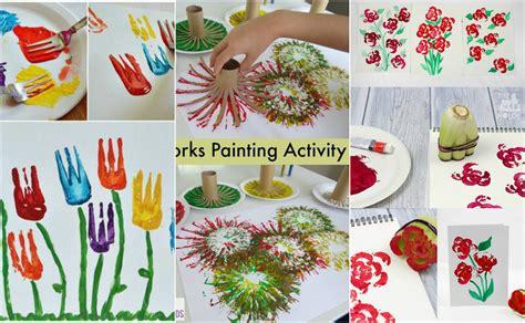 Malen Aktivitäten mit Kindern  10 kreative Ideen
