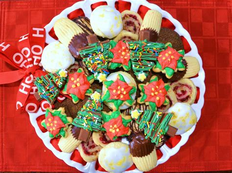 christmas cookie tray assembly liz bushong