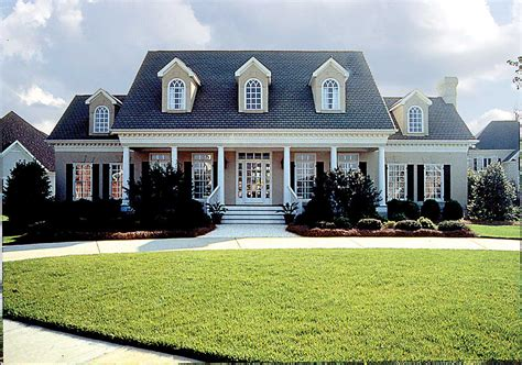 spacious southern colonial lv architectural designs house plans