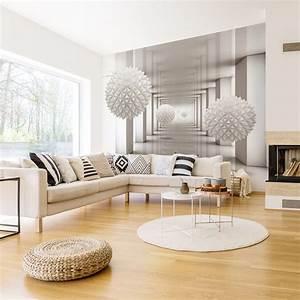 Fototapeten 3d Effekt : vlies fototapeten 3d effekt trendige wanddekorationen ~ Watch28wear.com Haus und Dekorationen