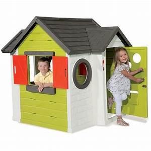 Cabane Enfant Plastique : smoby maison enfant my house achat vente maisonnette ext rieure cdiscount ~ Preciouscoupons.com Idées de Décoration