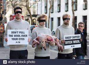 London, UK. 9 January 2015. Animal rights campaign group ...