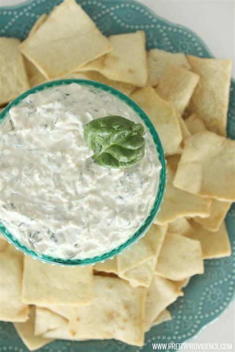 easy dips easy spinach dip appetizer recipe