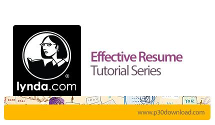 effective resume tutorial series a2z p30