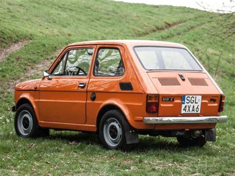 Polski Fiat by Fiat 126p Polski Fiat 1985 Orange Maluch