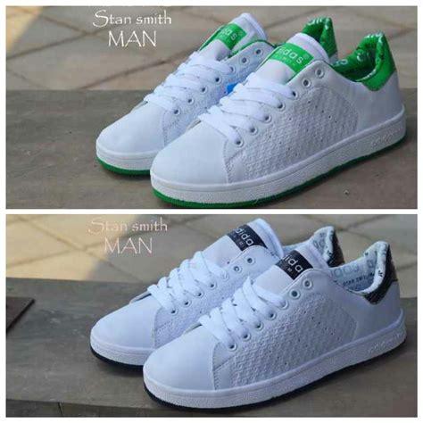 jual sepatu adidas stan smith putih casual terjual