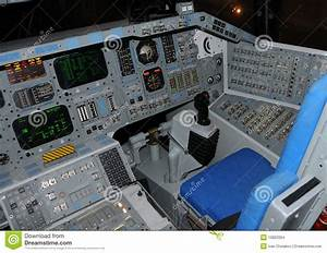Space Shuttle Cockpit Stock Images - Image: 10822004