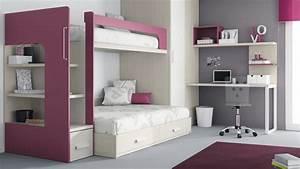 Agencer Une Chambre : agencer une petite chambre 8 comment am233nager un lit ~ Zukunftsfamilie.com Idées de Décoration