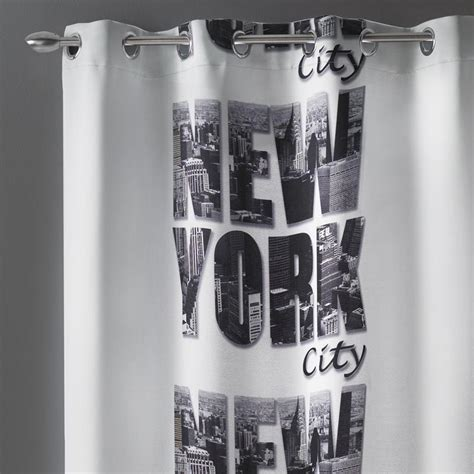 rideau de new york rideau occultant 140x260cm quot new york quot