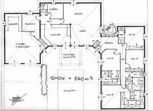 exemple plan maison moderne perfect plan maison l plain With exceptional realiser plan de maison 11 architecte chasselay