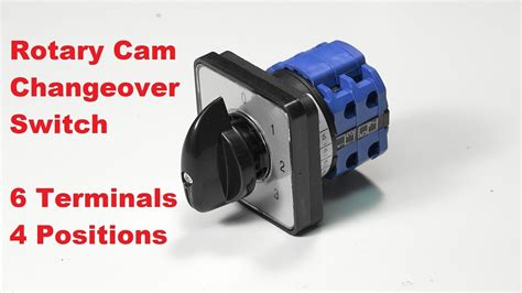 Rotary Cam Changeover Switch Terminals Positions