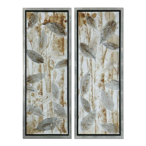 Uttermost 41412 Pressed Leaves Framed Art (set Of 2) Atg