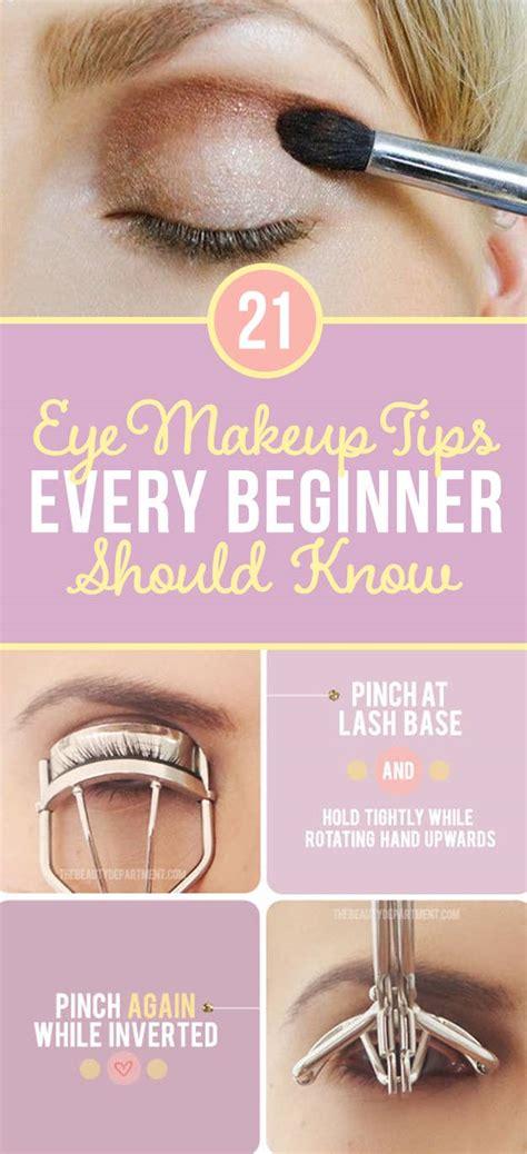 eye makeup tips beginners secretly