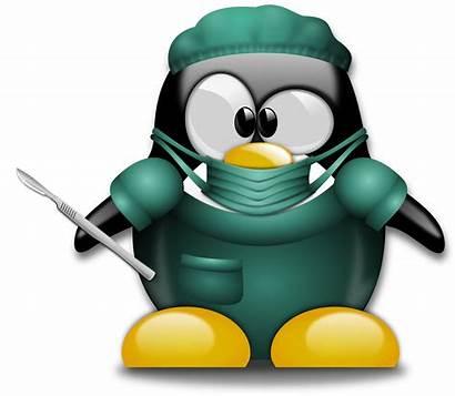 Surgery Clipart Surgeon Penguin Doctor Funny Tux
