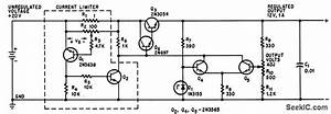 Adjustable Current Limiter - Basic Circuit