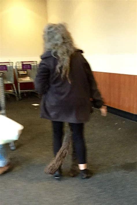 extra long extra gross dreadlocks tail hair fail