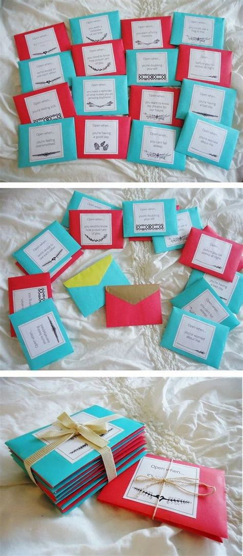 open  letters  boyfriend easy diy christmas