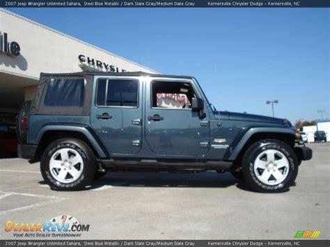 2007 Jeep Wrangler Unlimited Sahara Steel Blue Metallic