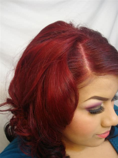 Coloring Your Own Hair Dark Red Hair Colors Ideas And