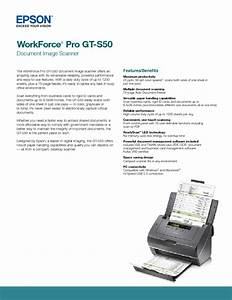 Workforce Pro Gt-s50 Manuals