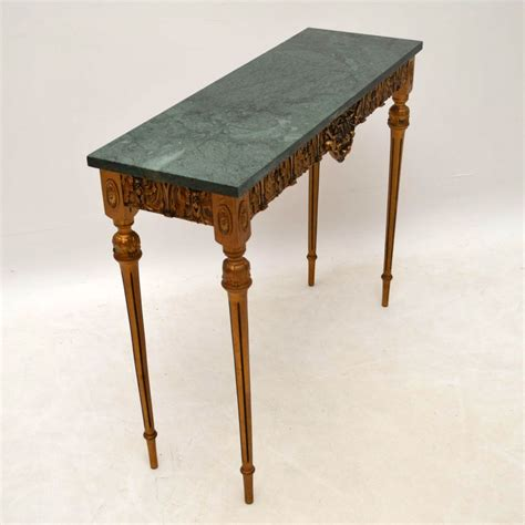 antique marble top side table antique french marble top gilt wood side table