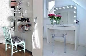 Miroir Coiffeuse Lumineux : oltre 1000 idee su miroir lumineux su pinterest specchio sanijura e menuisier agenceur ~ Teatrodelosmanantiales.com Idées de Décoration