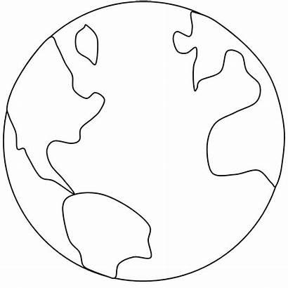 Earth Coloring Colorear Tierra Erde Imagenes Printable